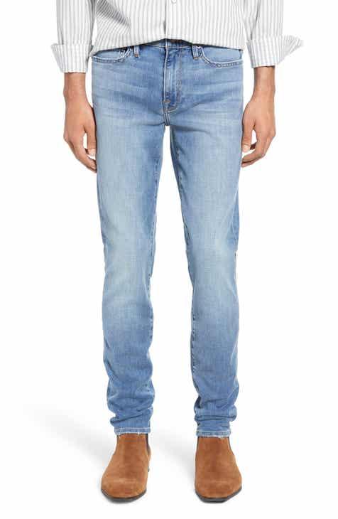 FRAME L'Homme Skinny Fit Jeans (Bastille)