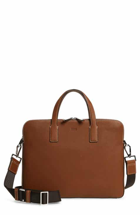BOSS Briefcases for Men  Leather 826bc55a09179