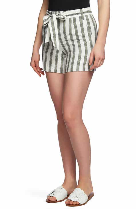 1.STATE Regancy Stripe Shorts by 1.STATE