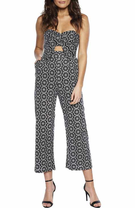 Bardot Twist Strapless Jumpsuit by BARDOT