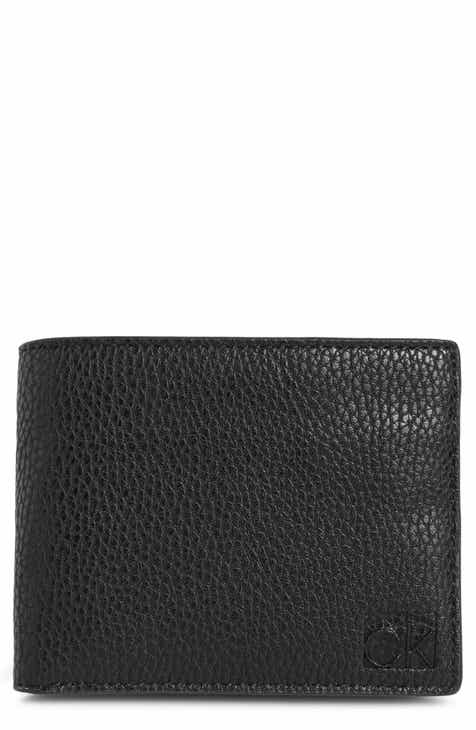 60fd11afb7d Calvin Klein RFID Leather Bifold Wallet