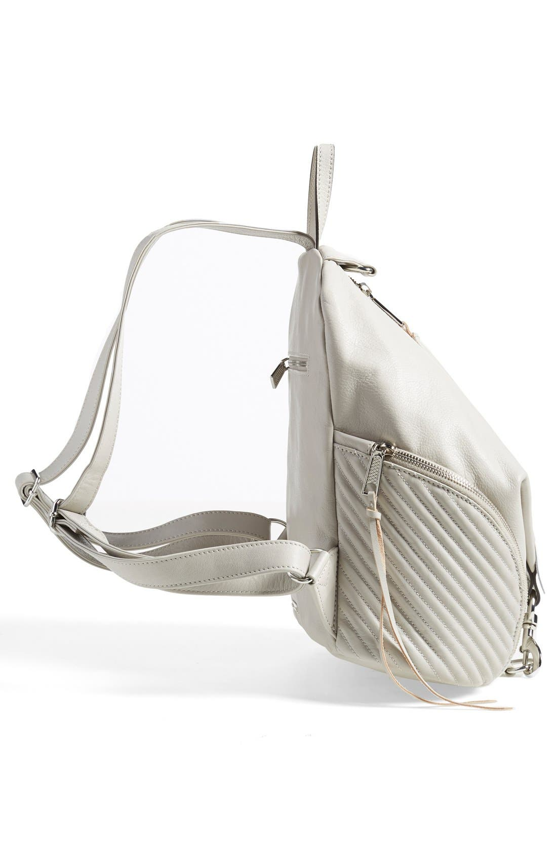 Alternate Image 5  - Rebecca Minkoff 'Line Quilted Julian' Backpack
