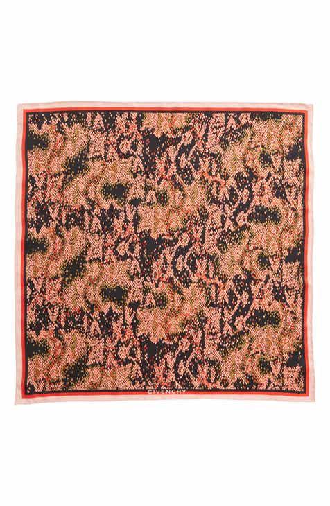 10584ec5ab9c Givenchy Snake Print Silk Bandana