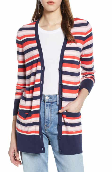 20ae3bab Halogen® Button Front Cardigan (Regular & Petite)