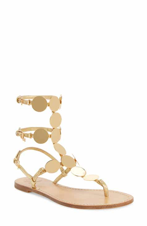 6cd172843249b9 Tory Burch Patos Disk Gladiator Sandal (Women)