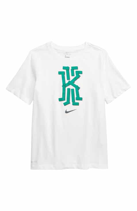 6bf6bad5c7 Nike Dri-FIT Kyrie Logo Graphic T-Shirt (Little Boys   Big Boys)