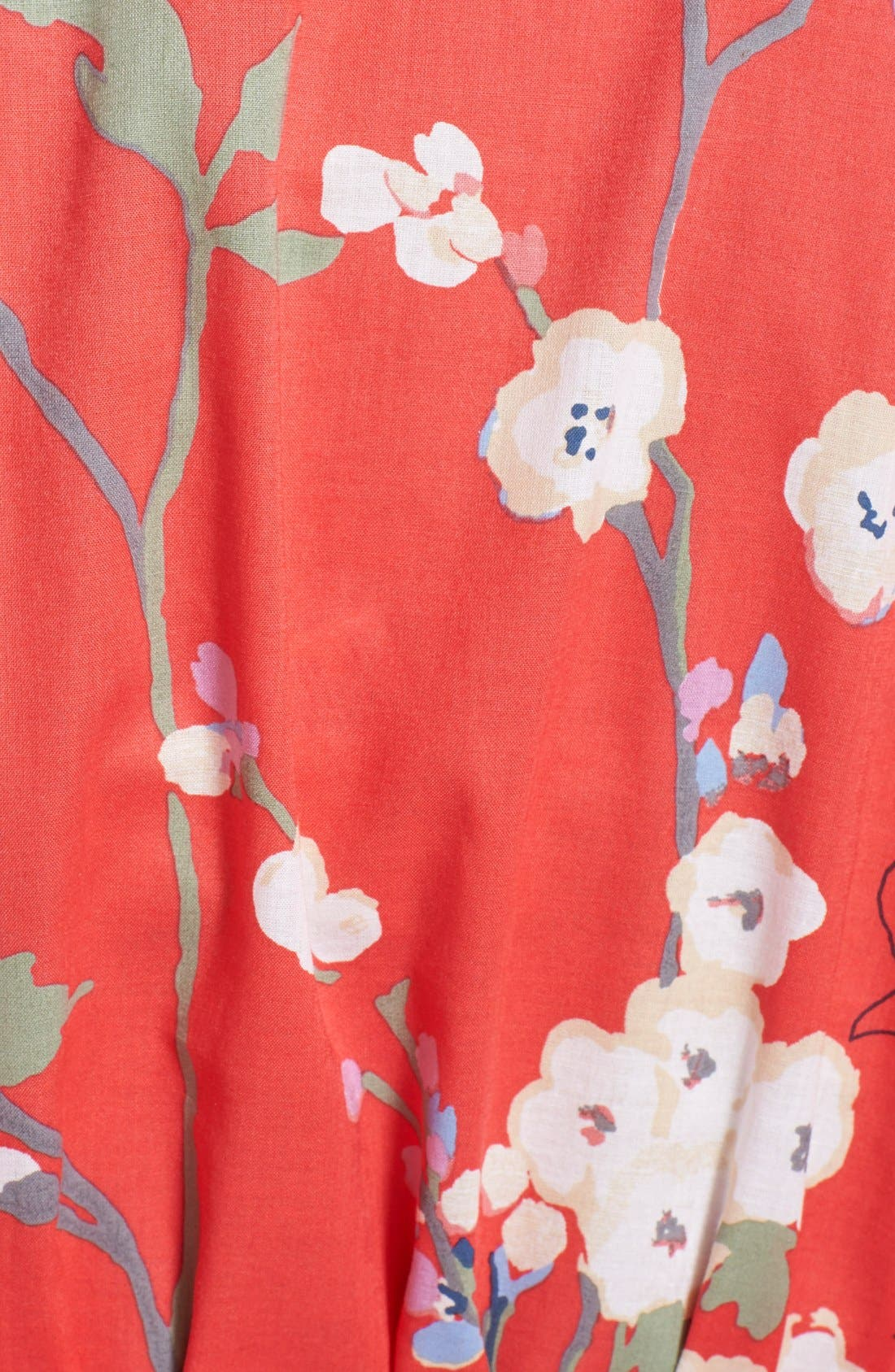 Alternate Image 3  - Natori 'Sakura' Print Wrap Robe