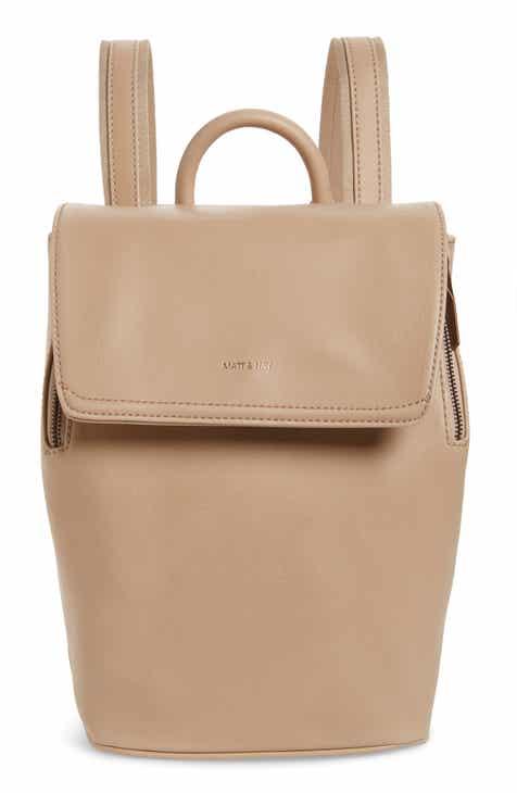 d2bb79eadf95 Matt   Nat Mini Fabi Faux Leather Backpack
