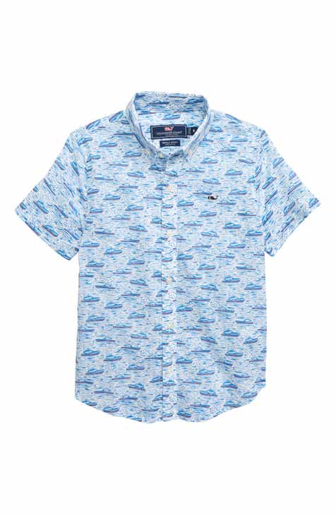 39e10ca256c0cd vineyard vines Sportfisher Whale Shirt (Toddler Boys   Little Boys)