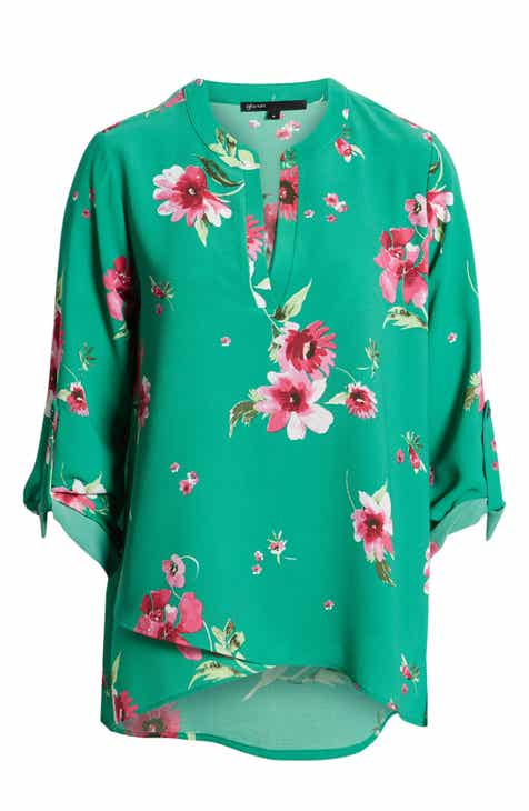 9f105d7e3ce Gibson x International Women s Day Erin Cross Front Tunic Blouse (Regular    Petite)