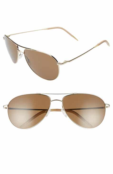 531cb49db82 Oliver Peoples Benedict 59mm Aviator Sunglasses