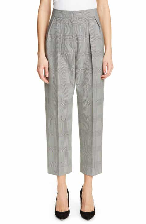 Max Mara Festa Prince of Wales Wool Pants by MAX MARA