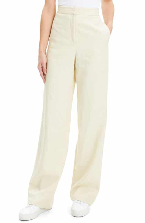 68d152171b165 Theory Clean Wide Leg Pants