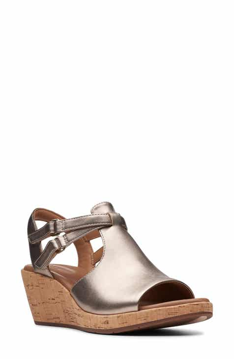 ec75c944292 Clarks® Un Plaza Way Wedge Sandal (Women)