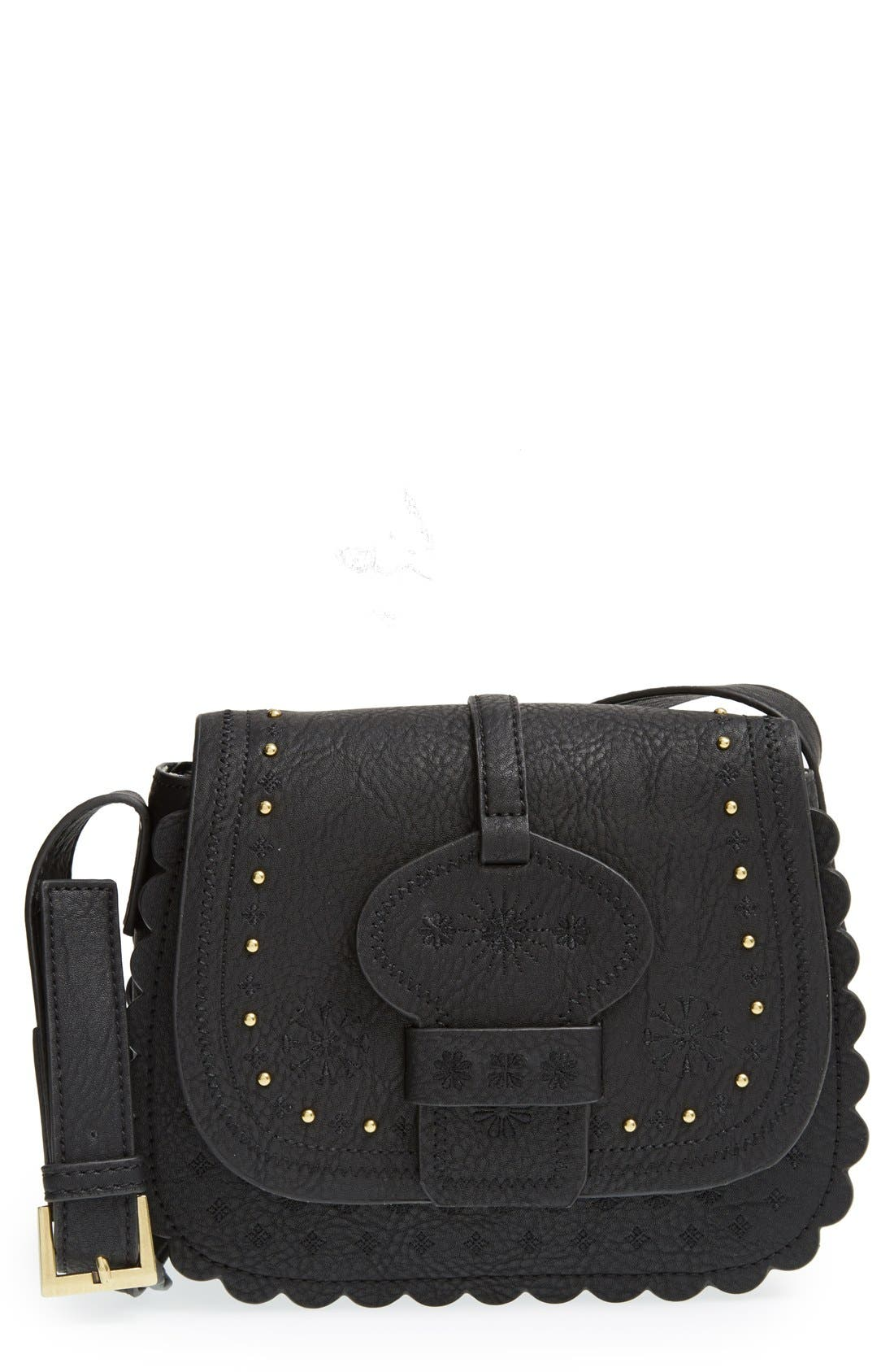 Alternate Image 1 Selected - Big Buddha Embroidered Western Crossbody Bag