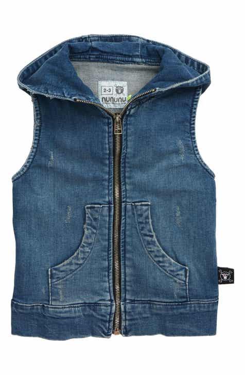 19ce6060311 Nununu Denim Hooded Vest (Toddler Boys