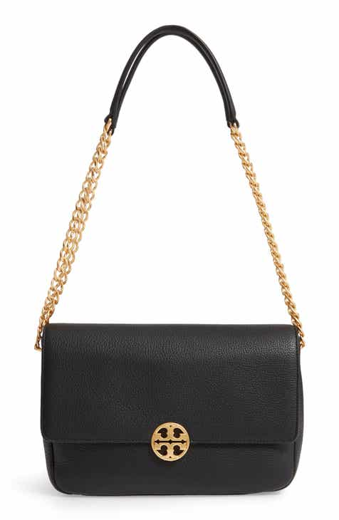 14358bcfe8052 Tory Burch Chelsea Leather Shoulder Bag