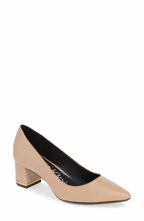 7fd3146fd Calvin Klein Nita Pointy Toe Pump (Women)