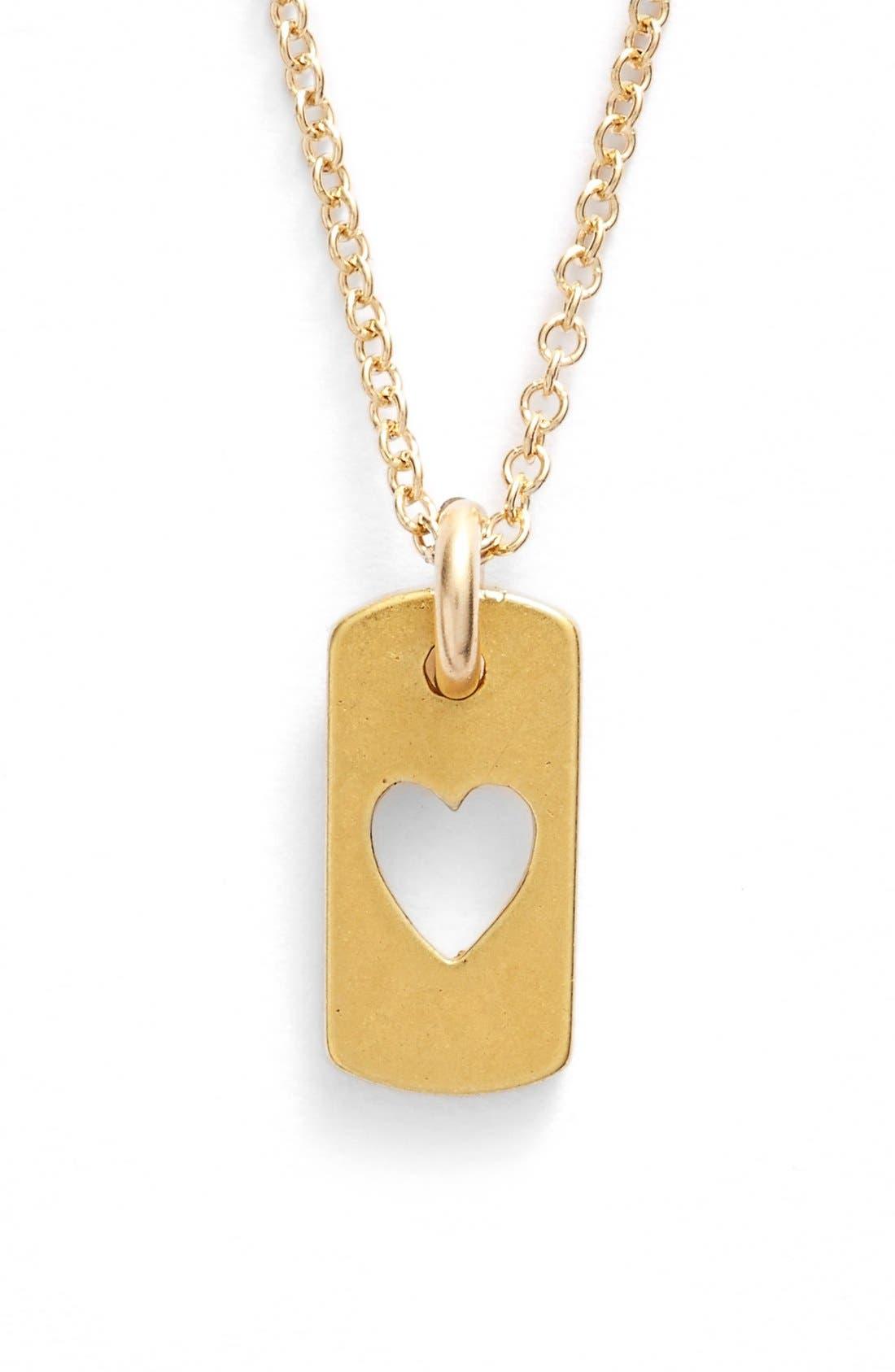 Alternate Image 2  - Dogeared 'Danielle LaPorte Truthbombs - Love Love' Necklace