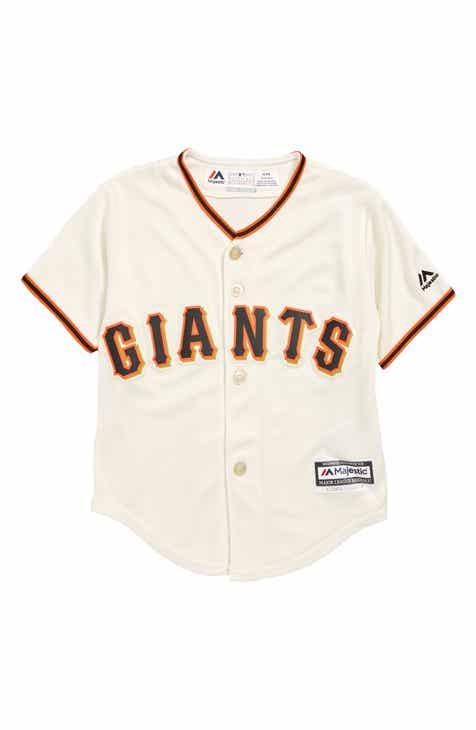 effca9492 Majestic MLB San Francisco Giants Replica Baseball Jersey (Toddler Boys, Little  Boys & Big Boys)