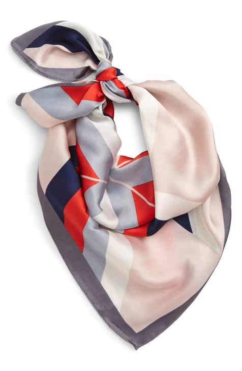 69e230a28f9 Geo Print Sateen Necktie Scarf