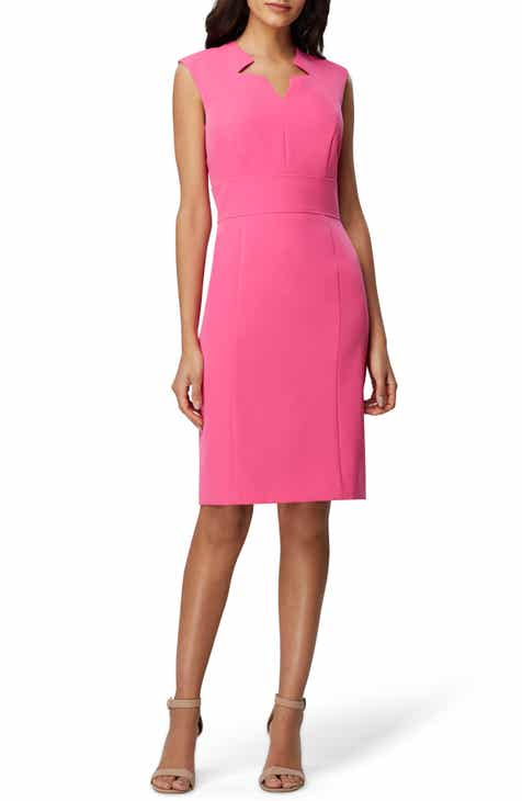 6e7ae8e2330 Tahari Crepe Star Sheath Dress