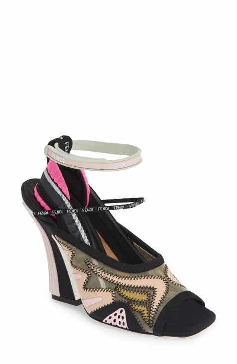 b1e77091fea Fendi FFreedom Peep Toe Sandal (Women) (Nordstrom Exclusive)