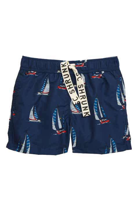 d33d9910dc6 Scotch Shrunk Sailboat Swim Trunks (Little Boys   Big Boys)