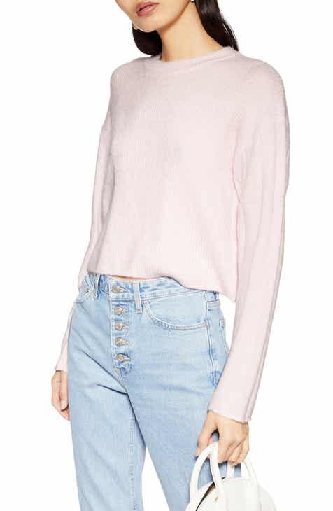 Topshop Crop Sweater by TOPSHOP
