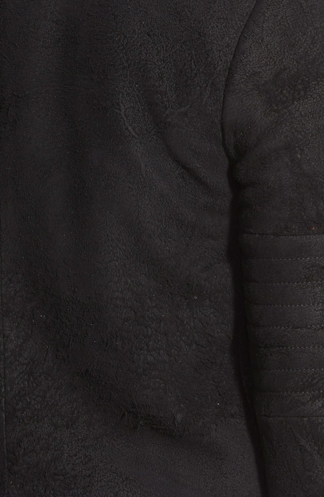 Alternate Image 3  - J Brand Ready-To-Wear 'Aiah' Lambskin Suede Moto Jacket (Nordstrom Exclusive)