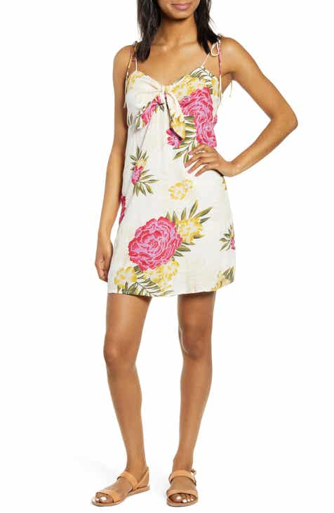 75b8292bac6a Billabong Sweet Pie Knot Front Minidress