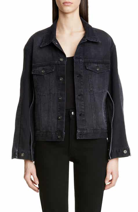 rag & bone Oversize Denim Trucker Jacket by RAG AND BONE