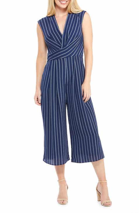 d3700c08b1c Maggy London Angie Rope Stripe Crop Jumpsuit (Regular   Petite)
