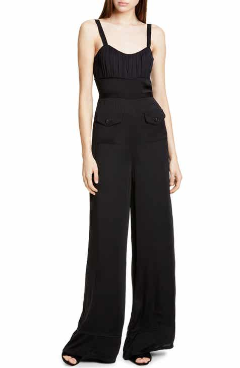 Self-Portrait Wide Leg Jumpsuit