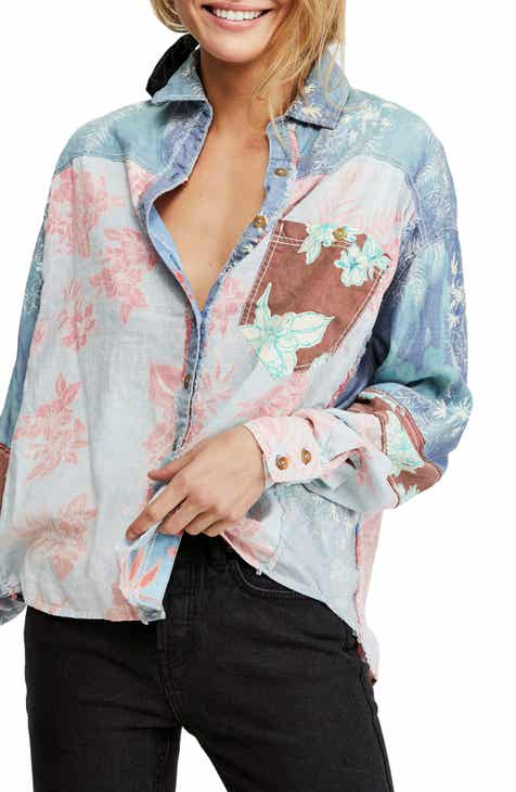 d3d9506d Free People Chasing Waves Shirt