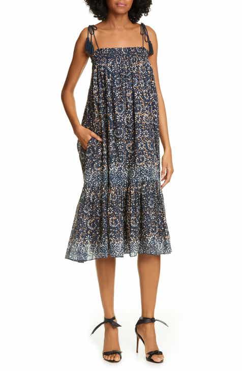 61ee150e797d Ulla Johnson Eugenia Floral Print Midi Dress