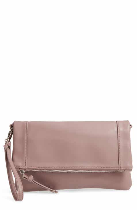 6d697614fee1 Sole Society Marlena Faux Leather Clutch.Crossbody Bag