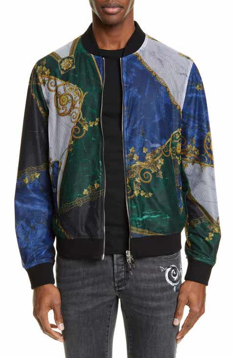 3c0b2f8cd007 Versace Collection Reversible Bomber Jacket