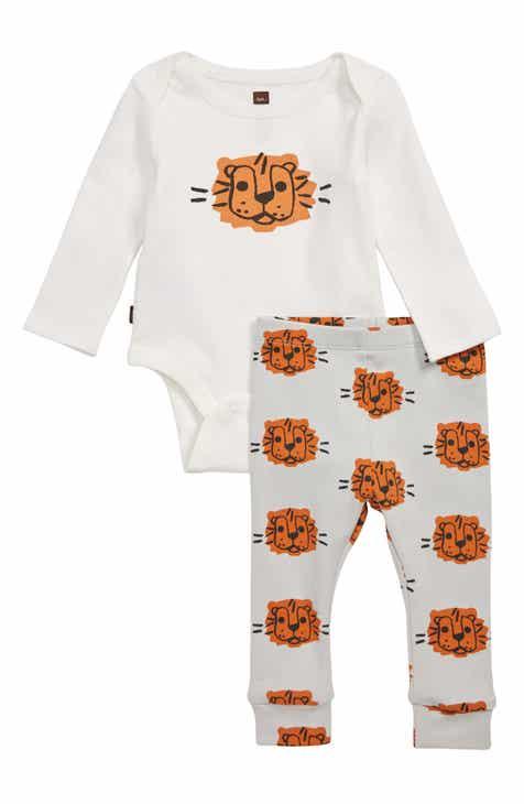 7a498f12b866 Tea Collection Tiger Print Bodysuit   Pants Set (Baby)