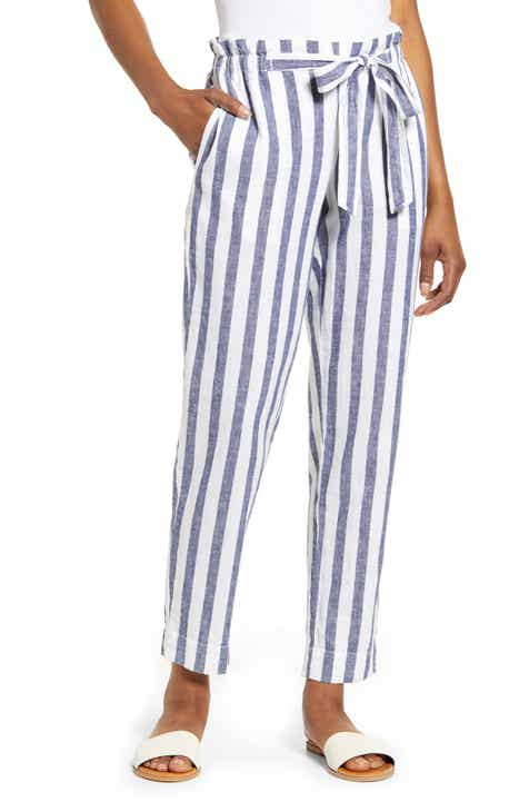 0c2d811c1ea5f3 beachlunchlounge Giavanna Stripe Beach Pants