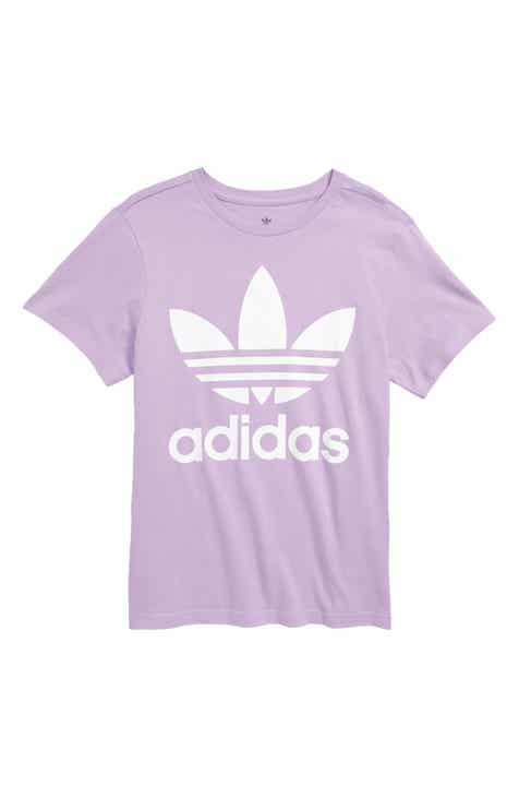 2ebe0160494 Kids' Adidas Originals Apparel: T-Shirts, Jeans, Pants & Hoodies ...