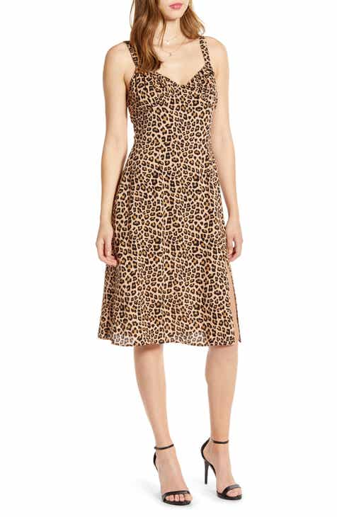CODEXMODE Leopard Print Sundress