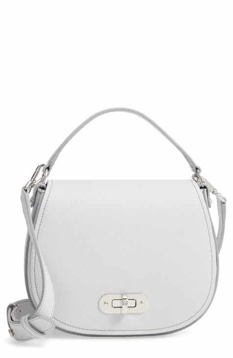58fda46d1bb2 Serapian Milano Mini Luna Leather Top Handle Bag