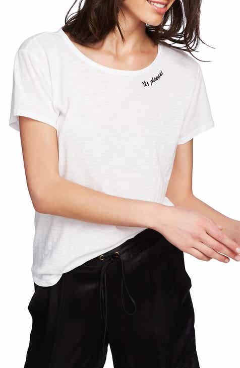 20c701a483088 STATE Yes Please Embroidered Tee