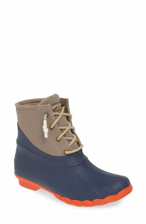 4404ba92b5f Sperry Saltwater Waterproof Rain Boot (Women)