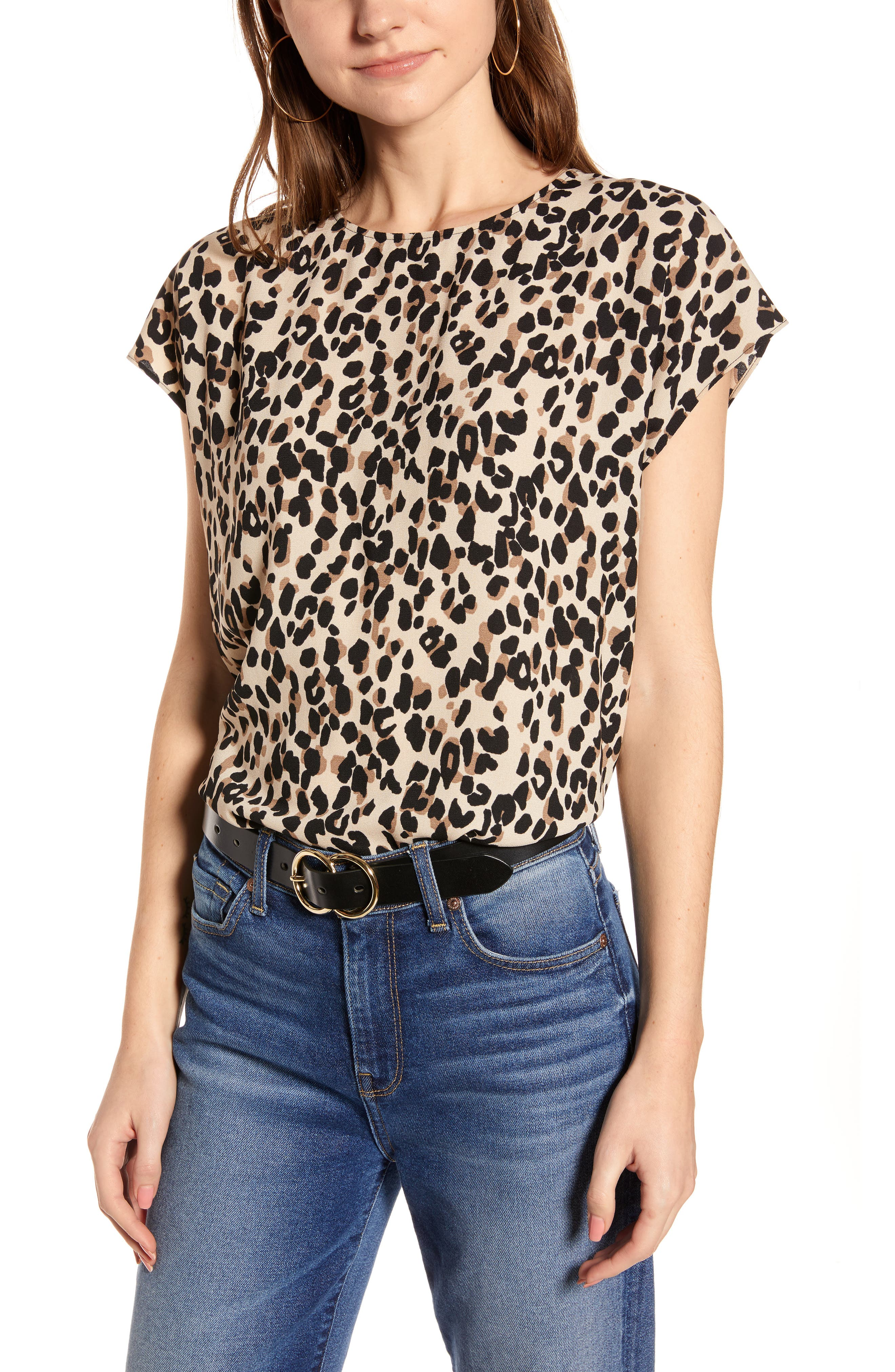 2d76d508 button back boxy top | Nordstrom
