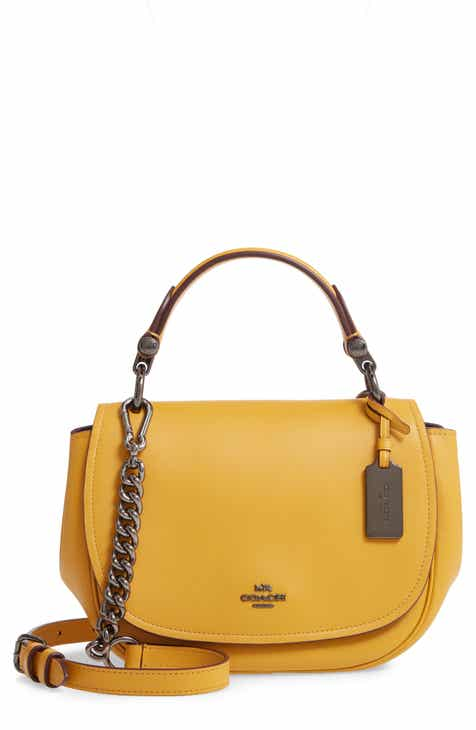 54a063a202268 COACH 'Small Nomad' Leather Crossbody Bag. Sale:$233.90
