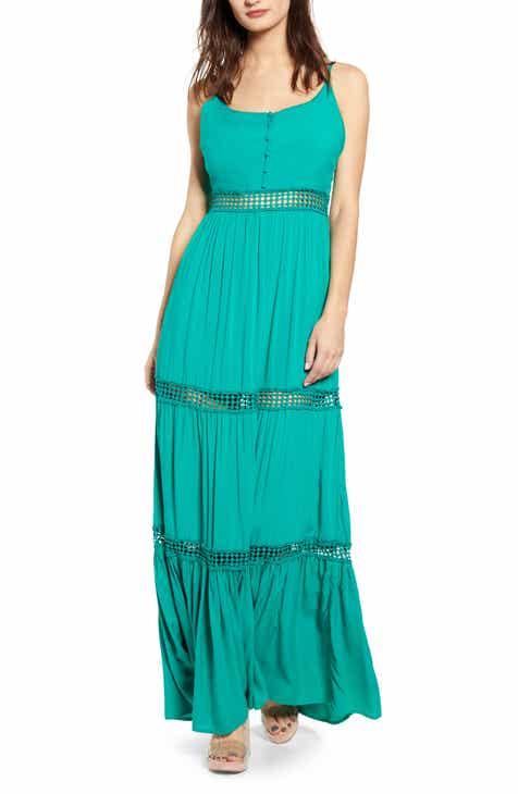 01512c6135a Jack By BB Dakota Sleeveless Eyelet Maxi Dress
