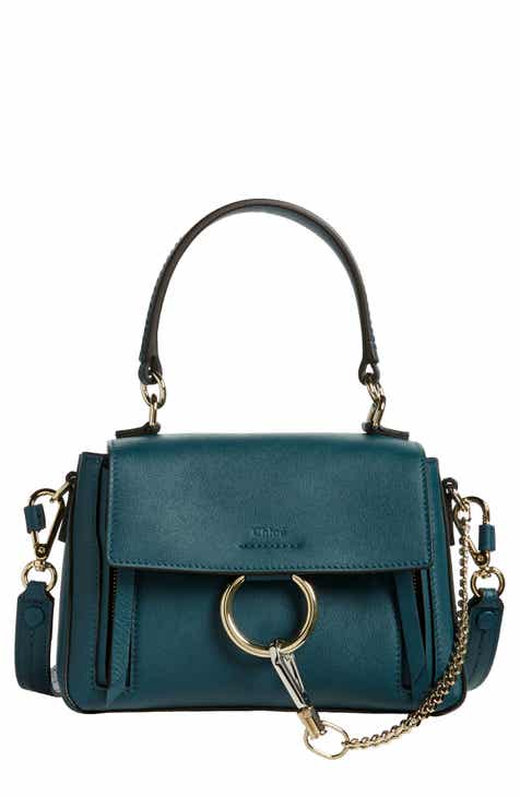 e3c5471e4ca Chloé Mini Faye Day Leather Crossbody Bag