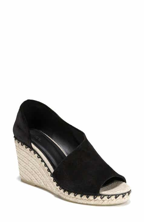 4630918a935 Vince Sonora Espadrille Wedge (Women) (Nordstrom Exclusive).  295.00.  Product Image. TITANIUM LEATHER  BLACK LEATHER